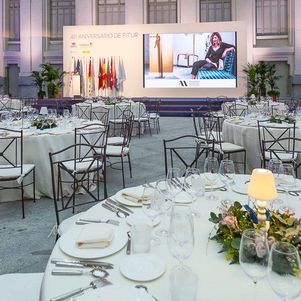 Interiorismo Gala UNWTO 2020