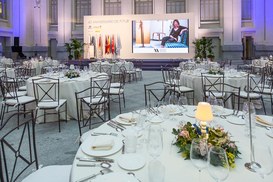Interiorismo Gala Organización Mundial del Turismo -Fitur 2020